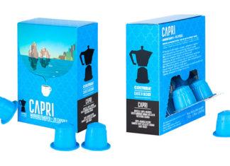 Capri island cafe caffe souvenir