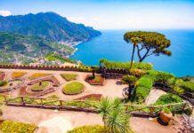 Ravello amalfi coast costiera caffè design